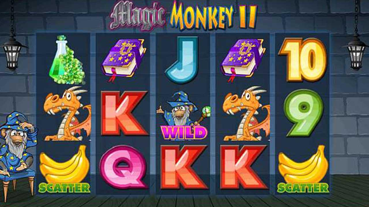 63 Free Spins on Magic Monkey 2 at Red Stag Casino