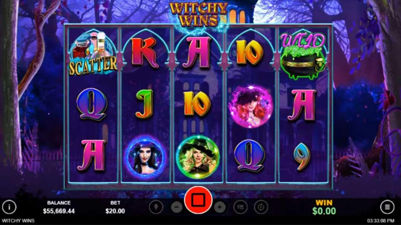 $100 Free Chip + 25 Spins on Witchy Wins at Uptown Pokies Casino