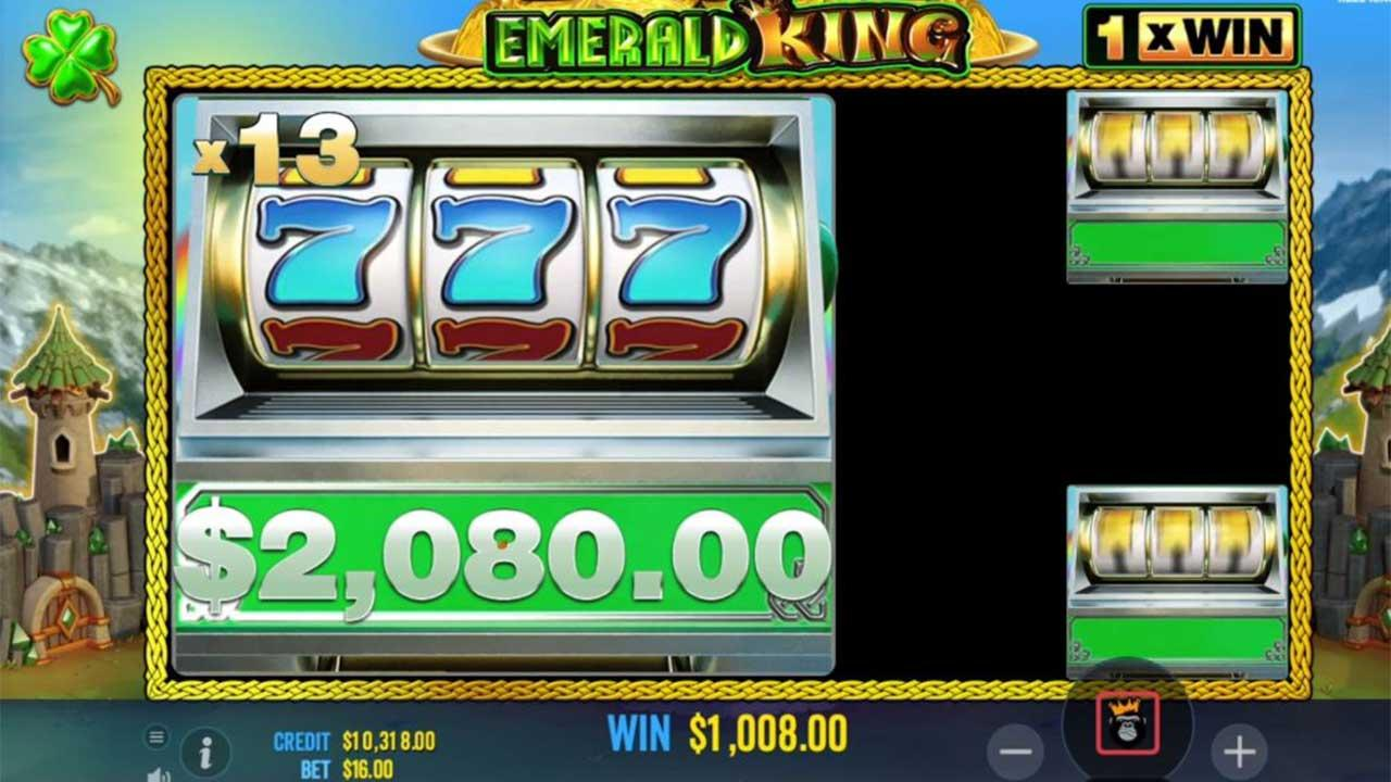 25 Free Spins on Emerald King at Black Diamond Casino