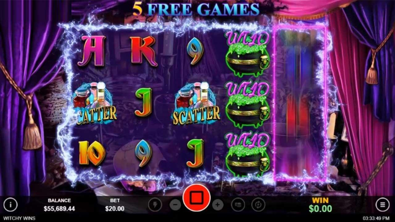 15 Free Spins on Witchy Wins at Uptown Aces Casino