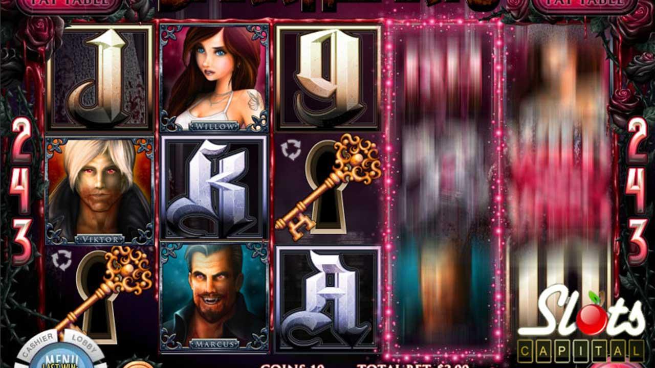 Get 100 Spins on Dark Hearts at Slots Capital Casino