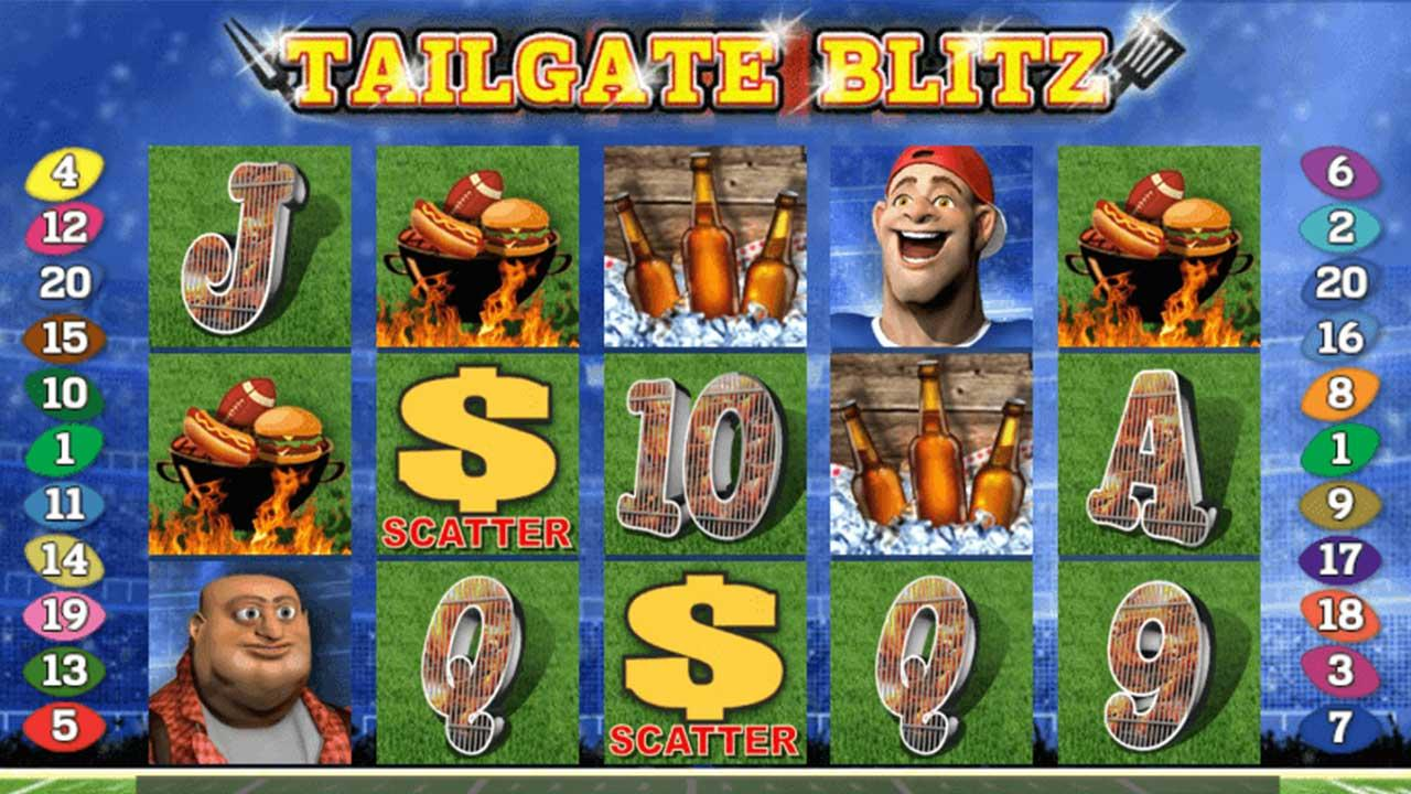 50 Free Spins on Tailgate Blitz at Miami Club Casino