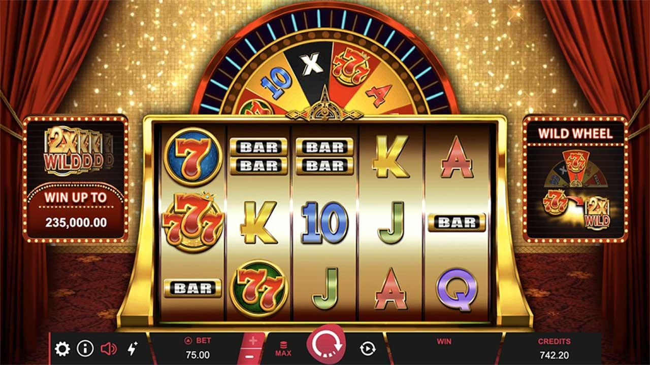 Play 777 Royal Wheel and WIN £€$100