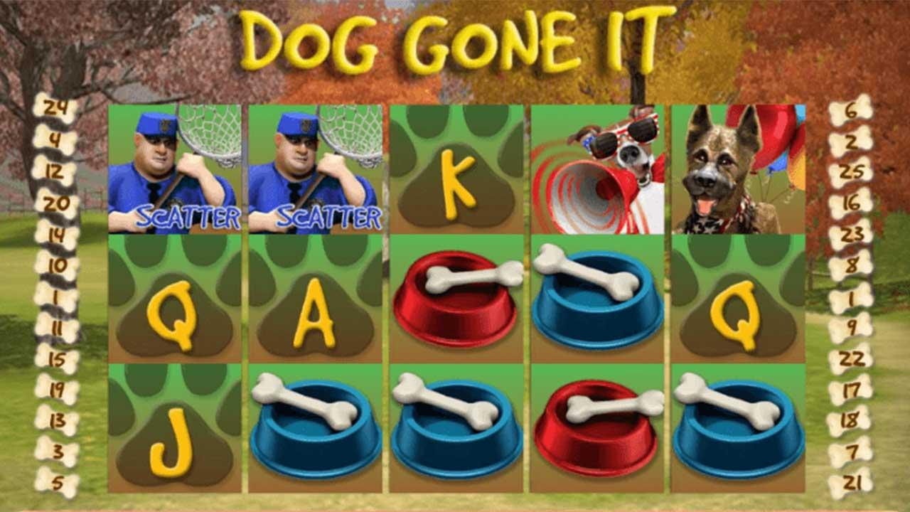 50 Free Spins on Dog Gone It at Miami Club Casino