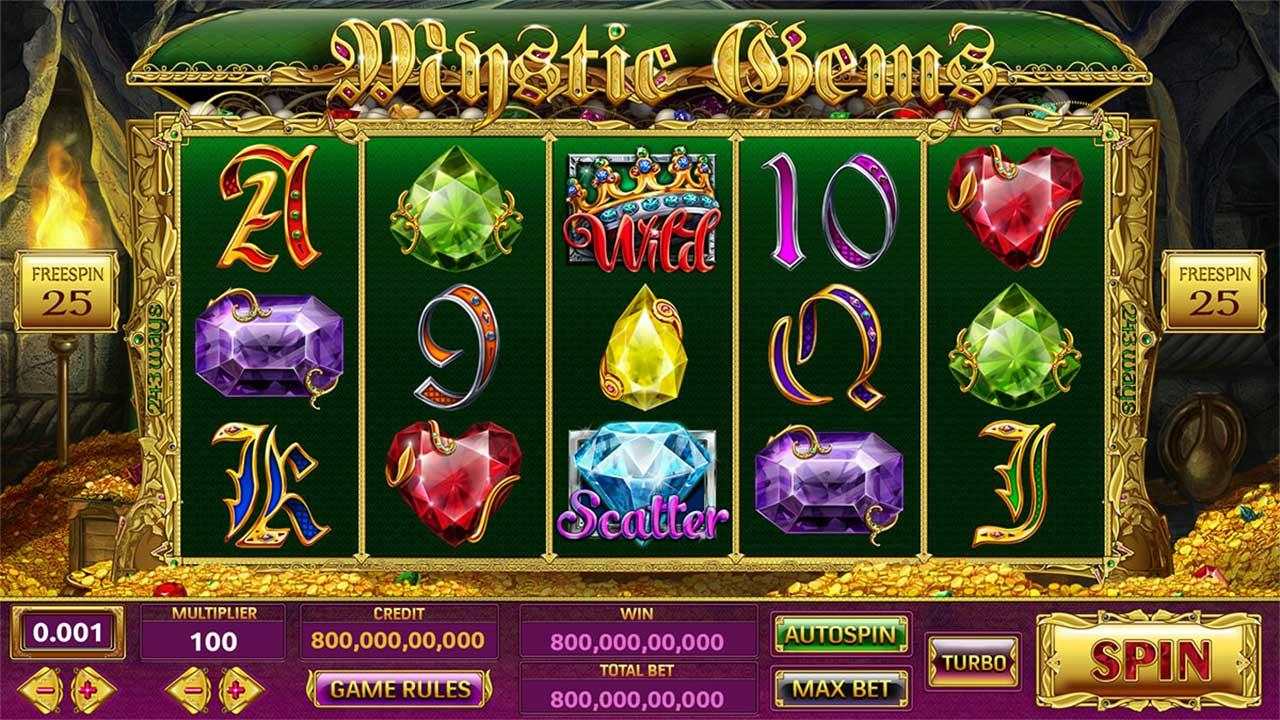 71 Free Spins on Mystic Gems at Red Stag Casino