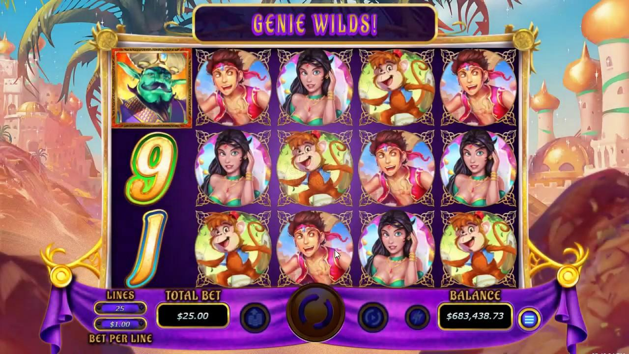 25 Free Spins on 5 Wishes at Fair Go Casino