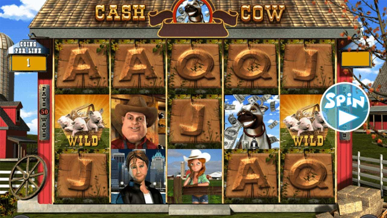 50 Free Spins on Cash Cow at Miami Club Casino (w2Rg)