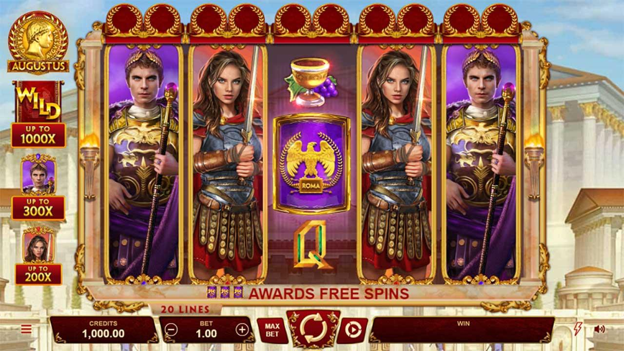 Play Augustus  and 10 lucky players receive £€$100