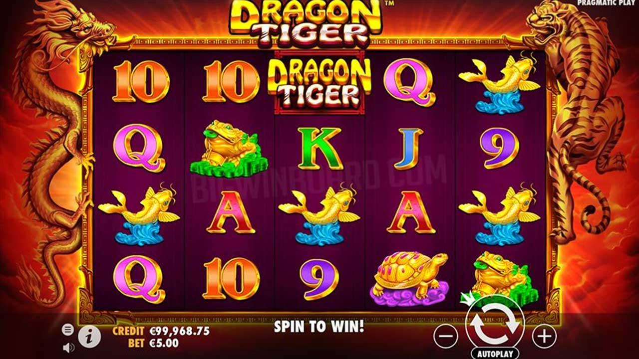 25 Free Spins on Dragon Tiger at Box24 Casino