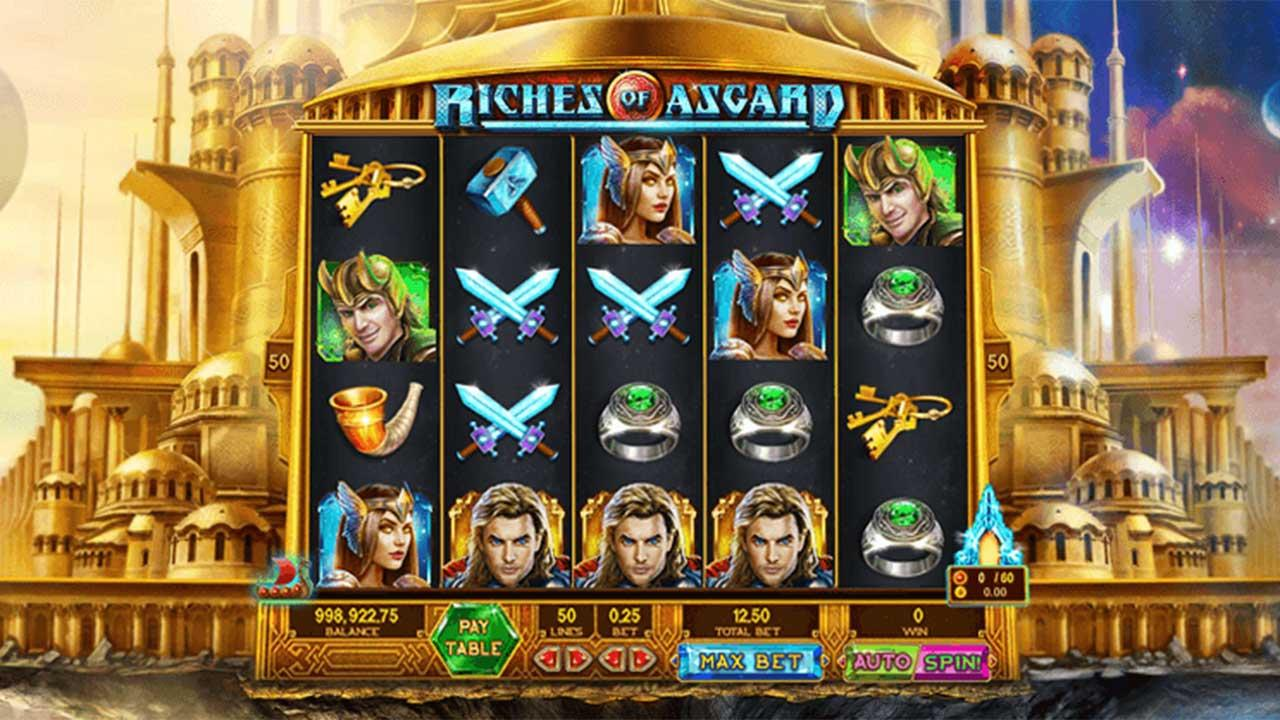 20 Free Spins on Asgard at Fair Go Casino
