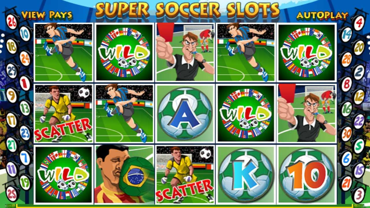 50 Free Spins on Super Soccer Slots at Miami Club Casino v2