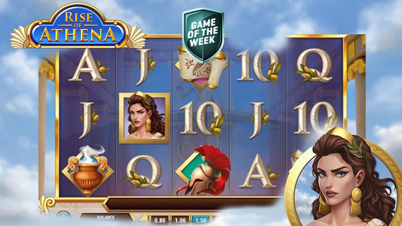 Rise Of Athena: 10% Cashback at Guts Casino