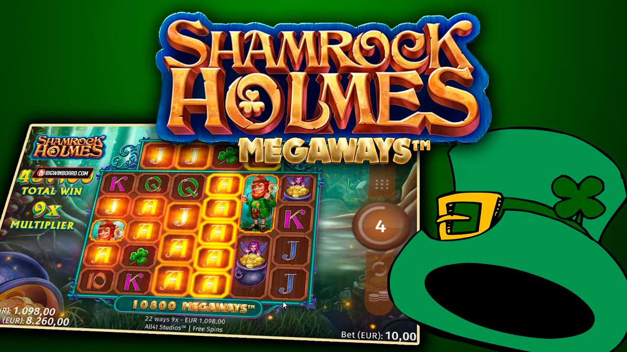 Play Shamrock Holmes Megaways and WIN 100