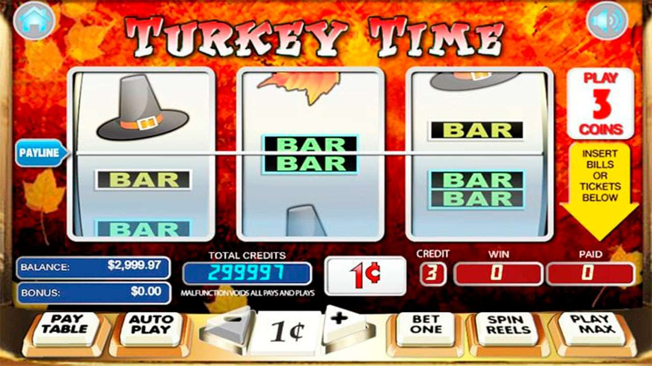100 Free Spins on Turkey Time at Miami Club Casino