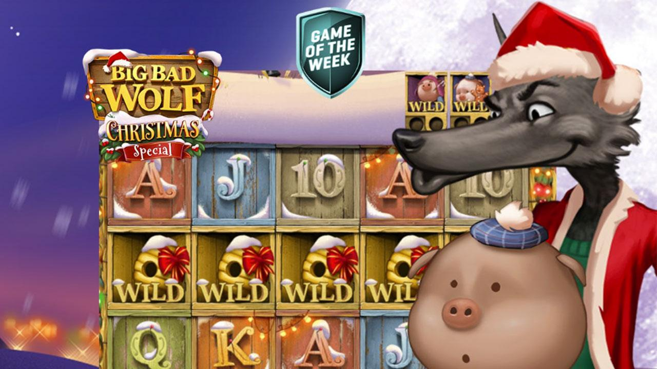 Get cashback on Big Bad Wolf Christmas Special at Guts Casino