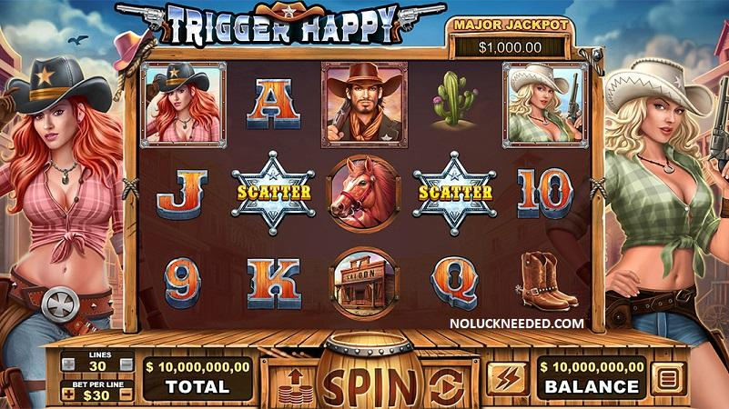 35 Free Spins on Trigger Happy at Fair Go Casino