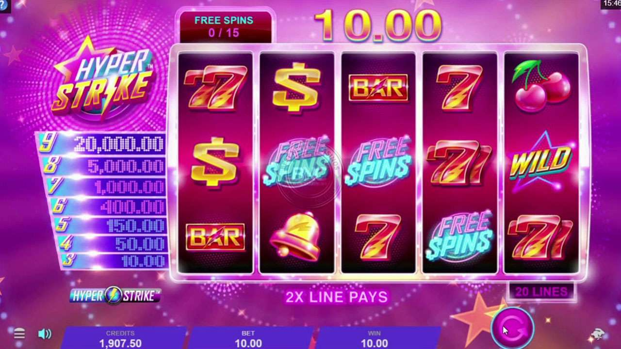 Play Casino Rewards Hyper Strike and WIN 100