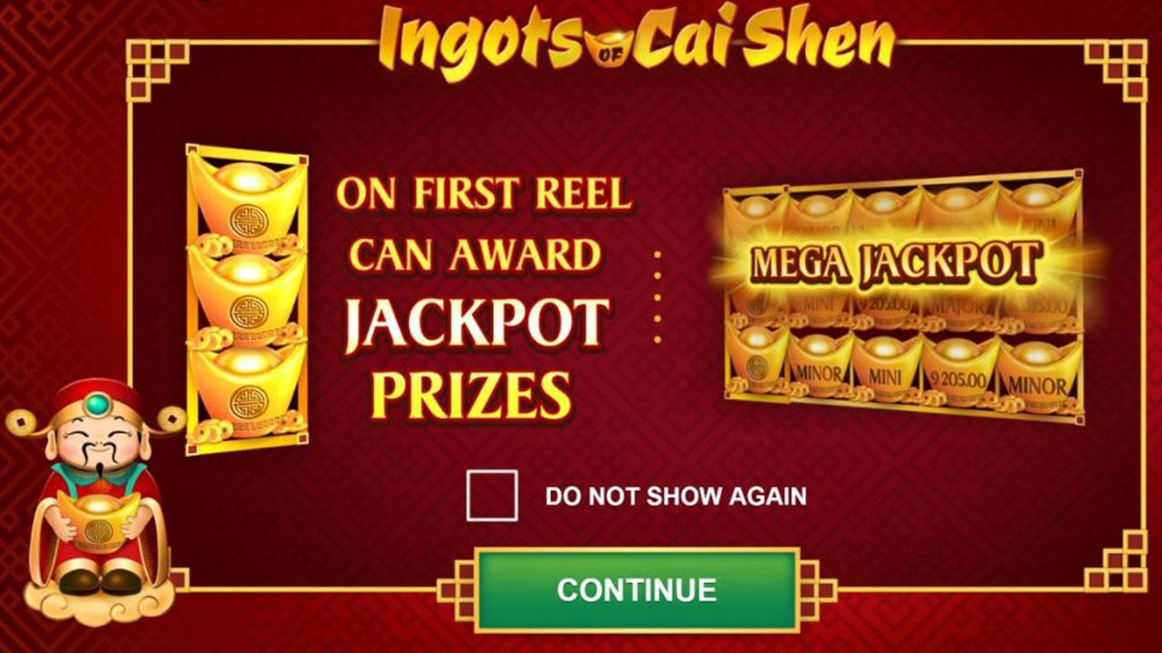 Play Ingots of Cai Shen and WIN 100