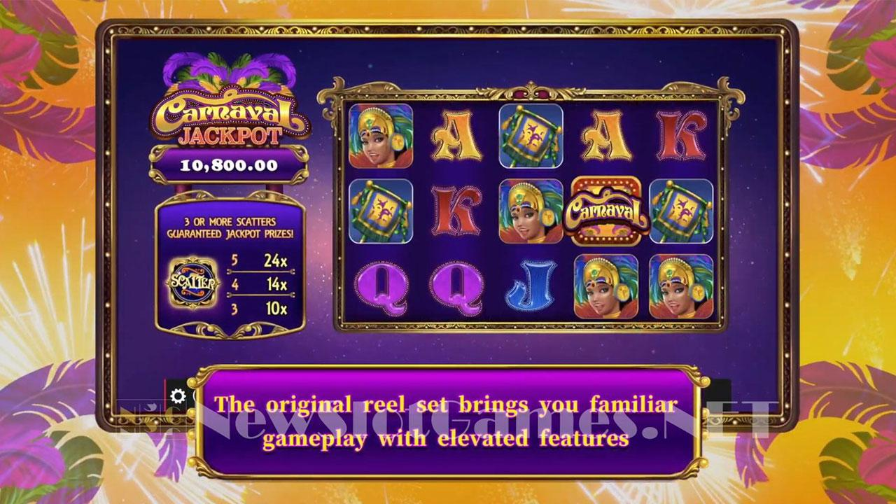 Play Carnaval Jackpot and WIN 100