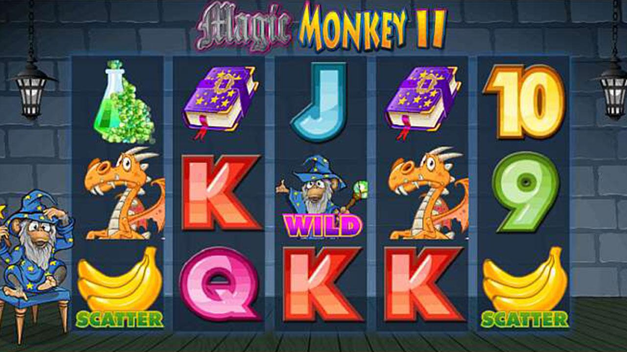 64 Free Spins on Magic Monkey II at Red Stag Casino