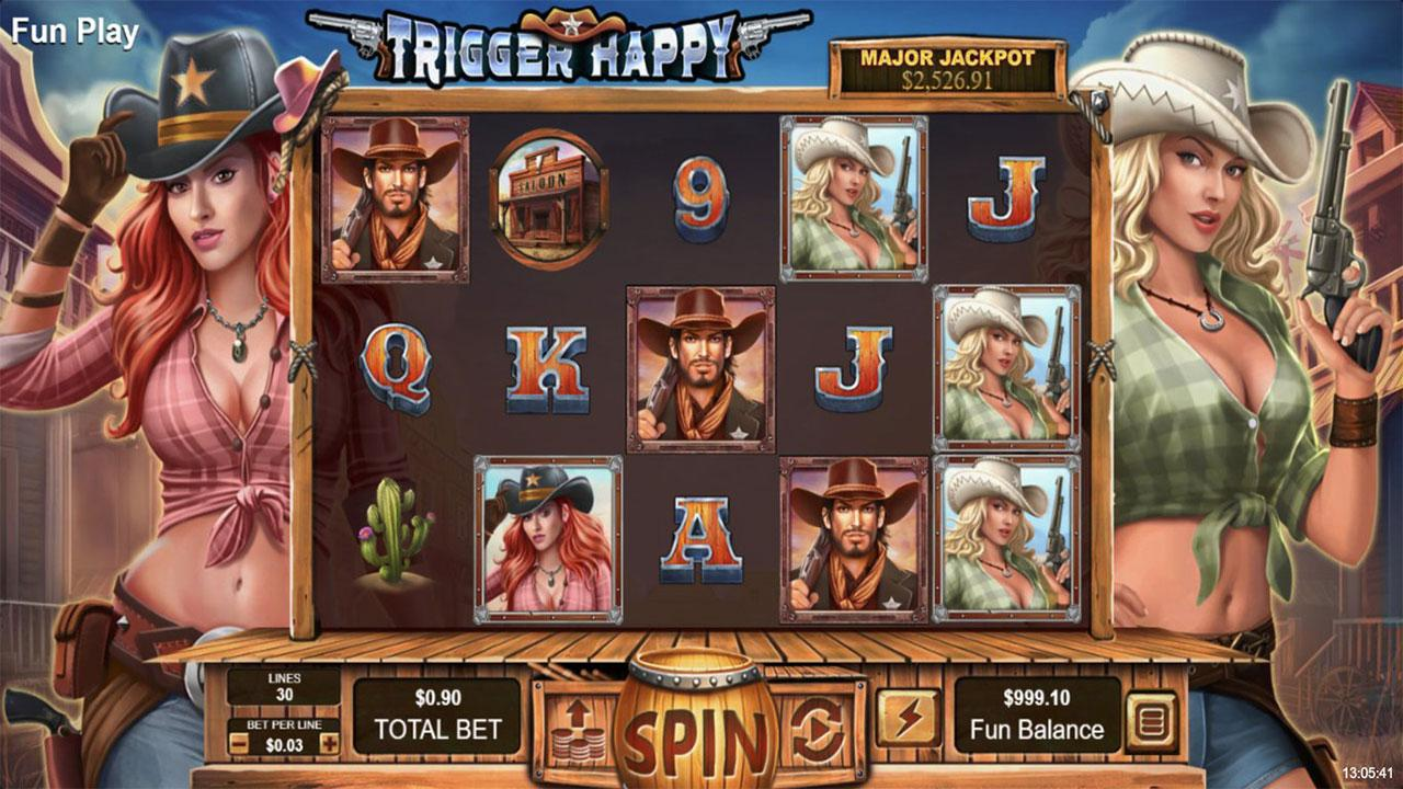 35 Free Spins on Trigger Happy at Fair Go Casino (rMCO)