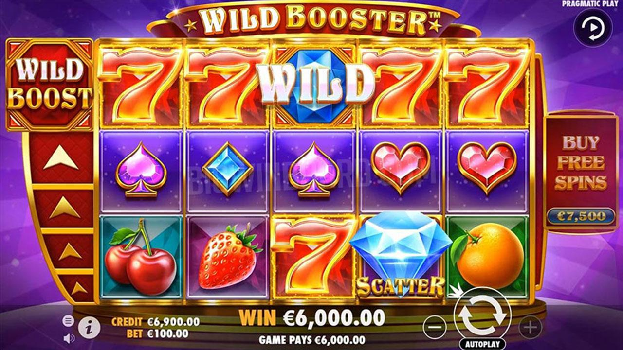 25 Free Spins on Wild Booster at Black Diamond Casino