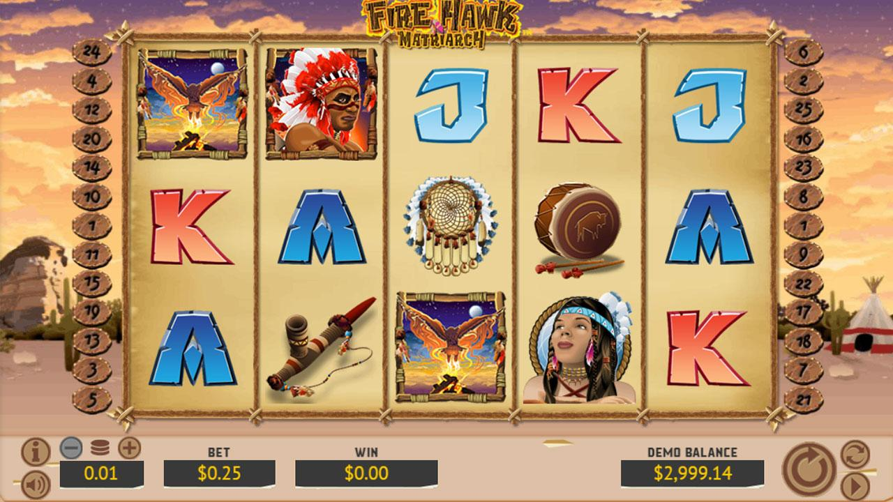 69 Free Spins New Game Fire Hawk Matriarch at Red Stag Casino