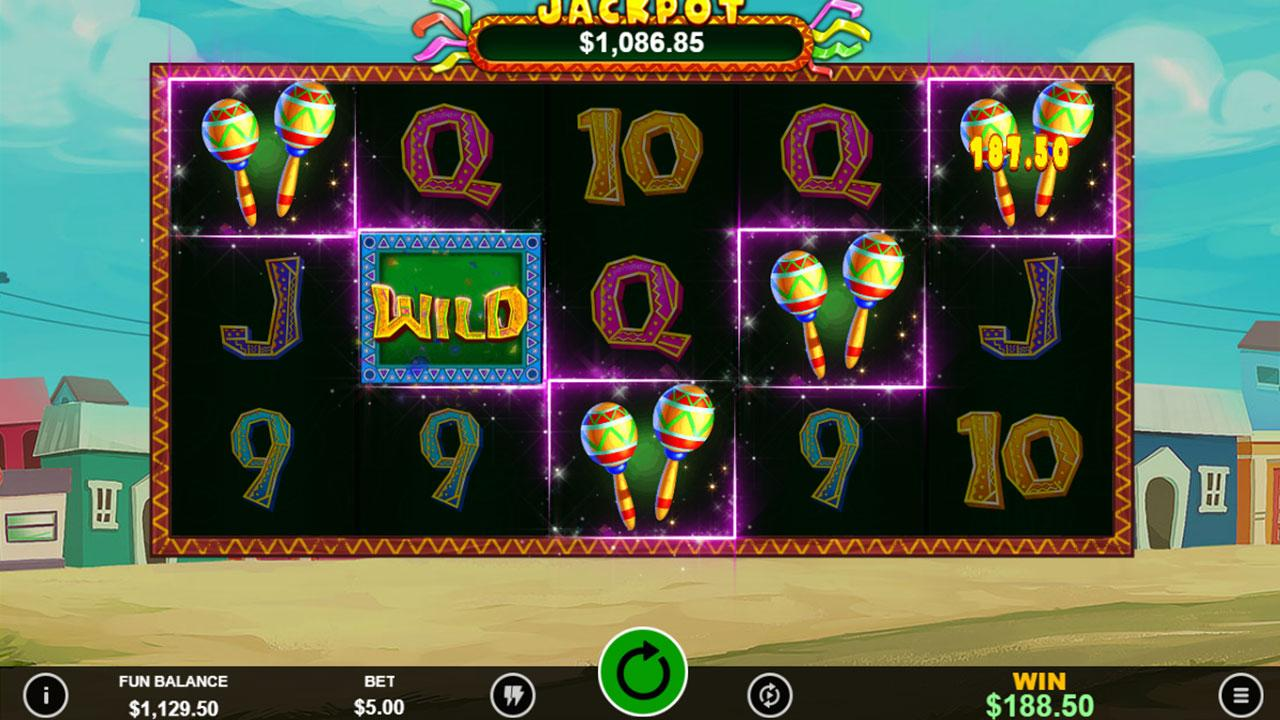 5 Free Chip on Jackpot Piñatas Deluxe at Slotocash Casino
