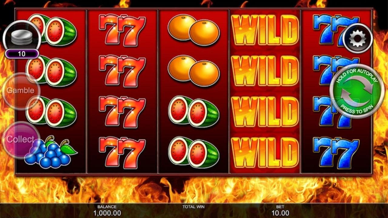 35 Free Spins on Wild Fire 7s at Slotocash Casino