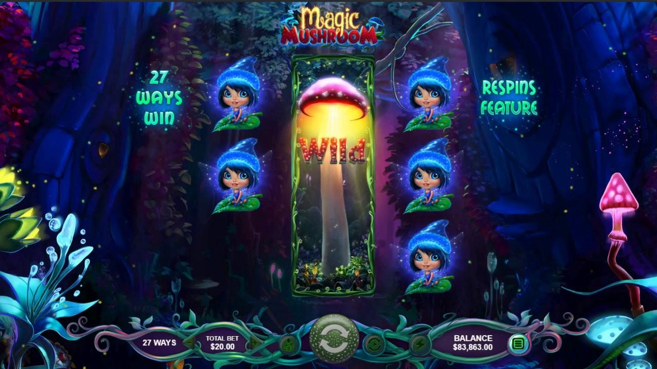 133 Spins on Magic Mushroom at Uptown Aces Casino