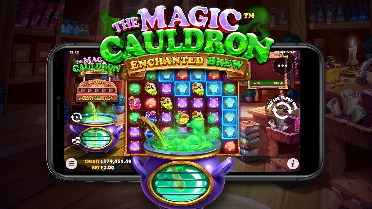 25 Free Spins on The Magic Cauldron - Enchanted Brew at Black Diamond Casino