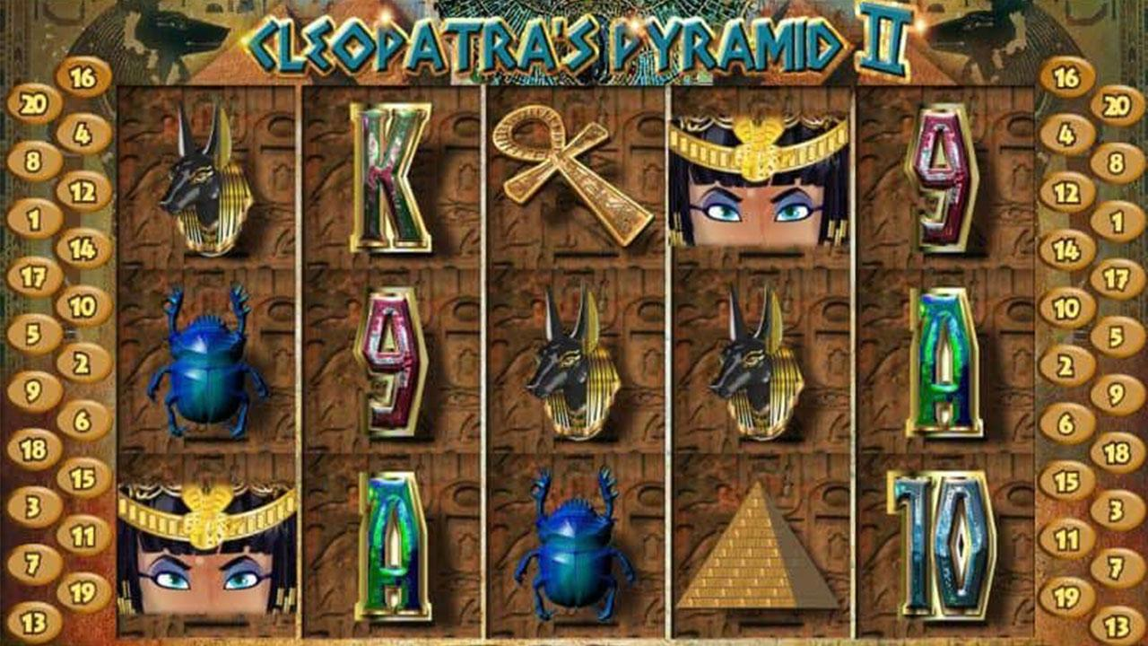 68 Free Spins on Cleopatra's Pyramid II at Red Stag Casino