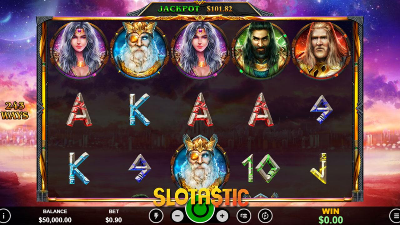 25 Free Spins on Asgard Deluxe at Slotocash Casino
