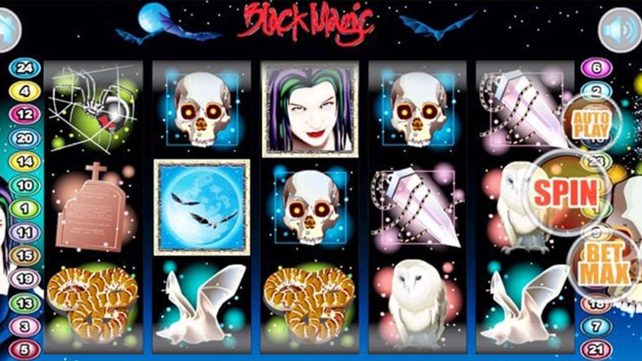 50 Free Spins on Black Magic at Miami Club Casino