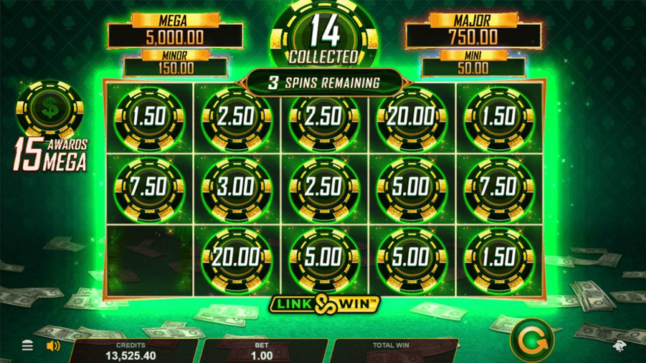 Play Hyper Gold LinkWin and WIN $100
