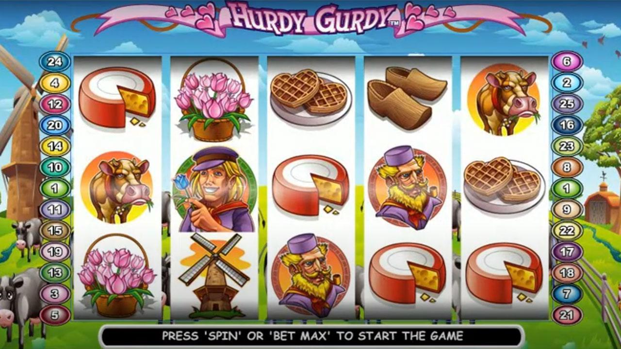 50 Free Spins on Hurdy Gurdy at Miami Club Casino