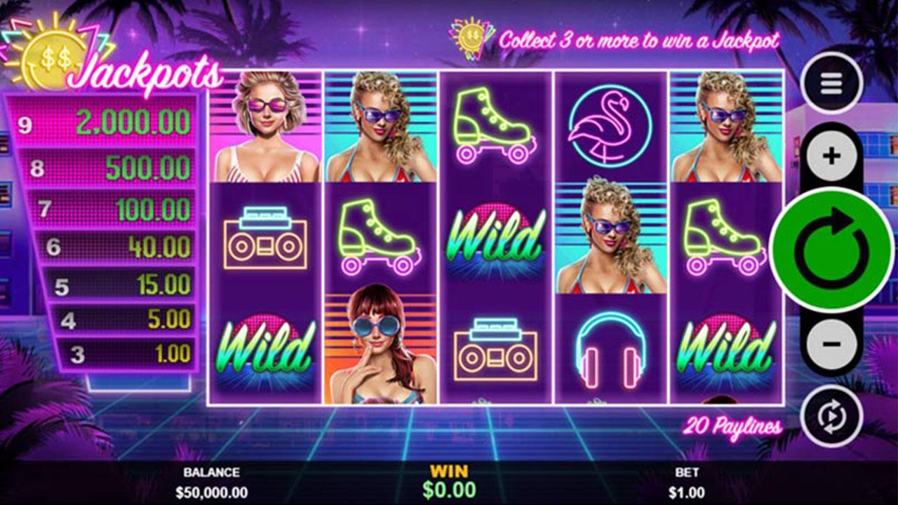 30 Free Spins on Miami Jackpots at Slotocash Casino