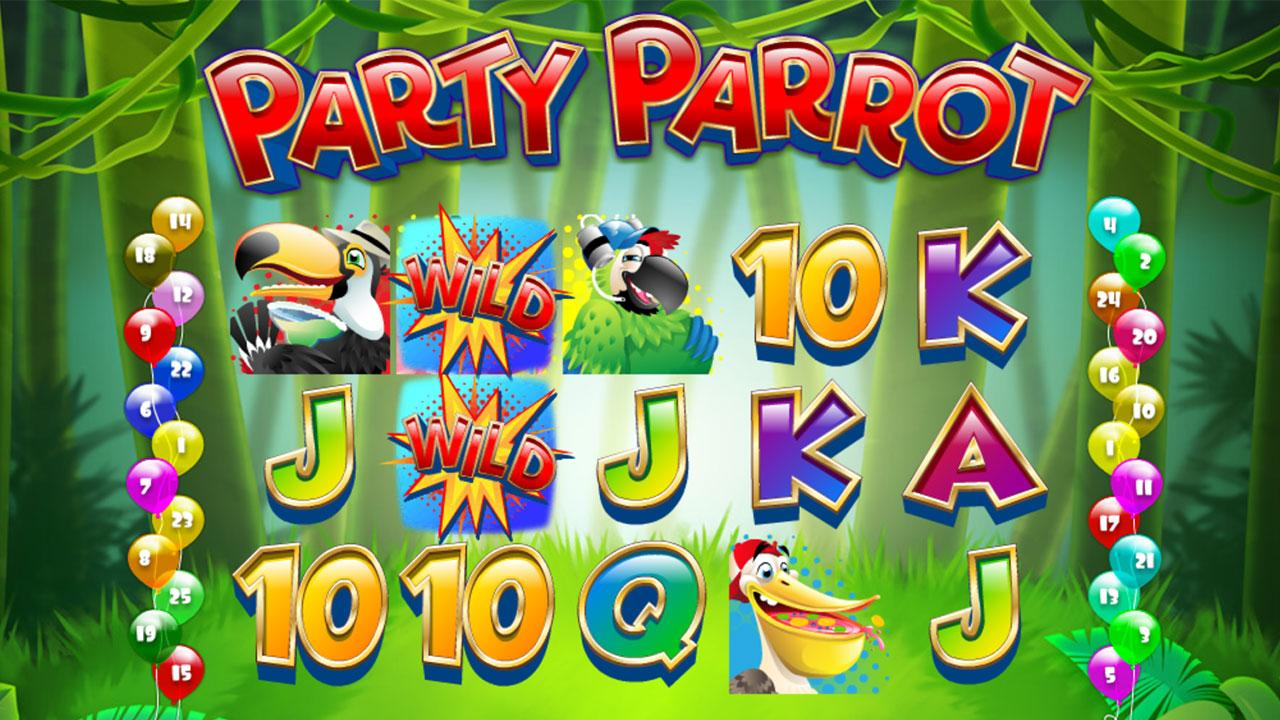 20 Free Spins on Parrot Party at Miami Club Casino