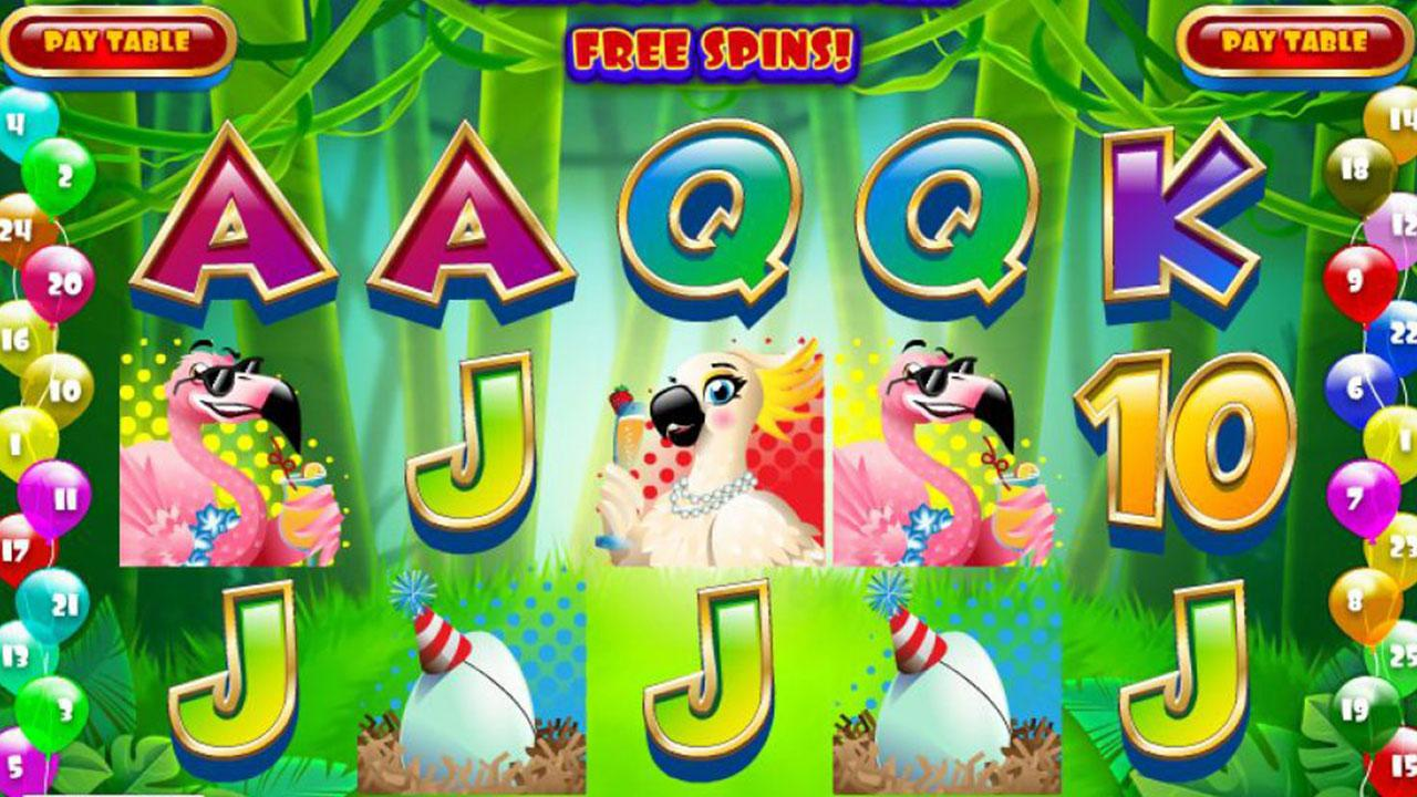 64 Free Spins on Parrot Party at Red Stag Casino