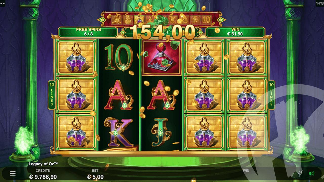Double Points on Legacy of Oz Hyperspins
