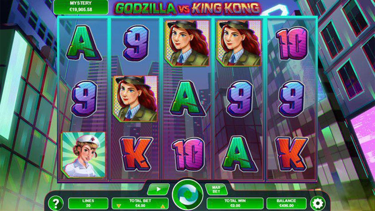 15 Free Chip on Godzilla vs King Kong at Slots Capital Casino