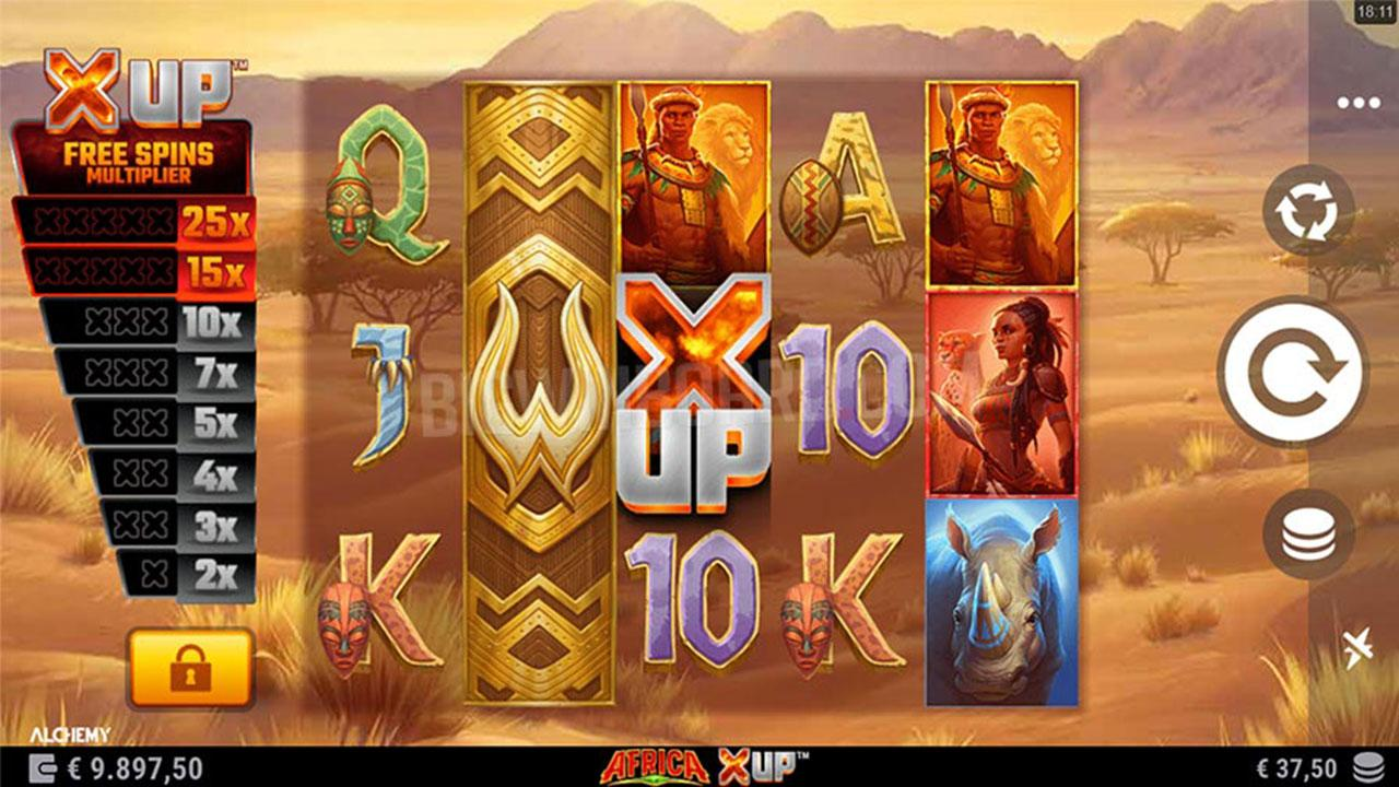 Play Africa X Up and WIN 100 USD