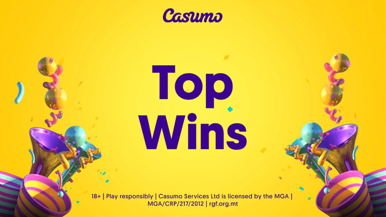 Casumo player hits jackpot wins close to 7.6 million EUR on Hall of Gods