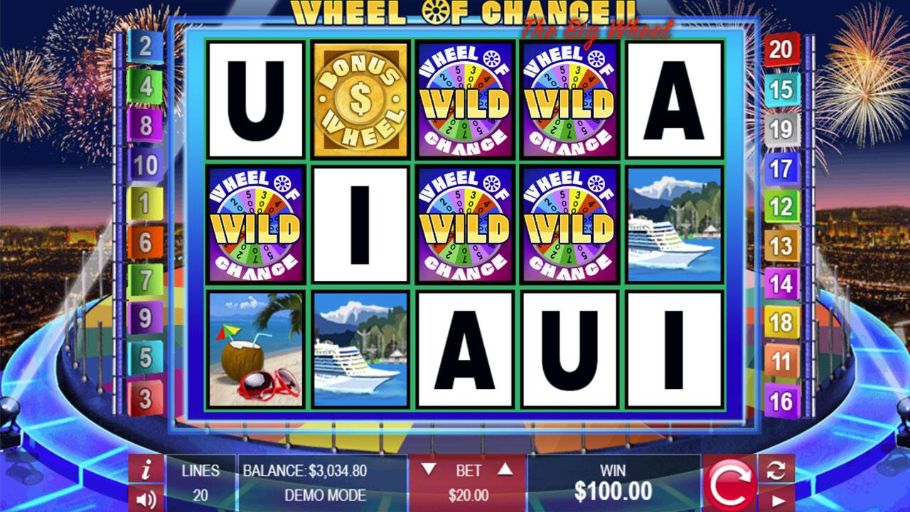 50 Free Spins on Wheel of Chance II The Big Wheel at Miami Club Casino