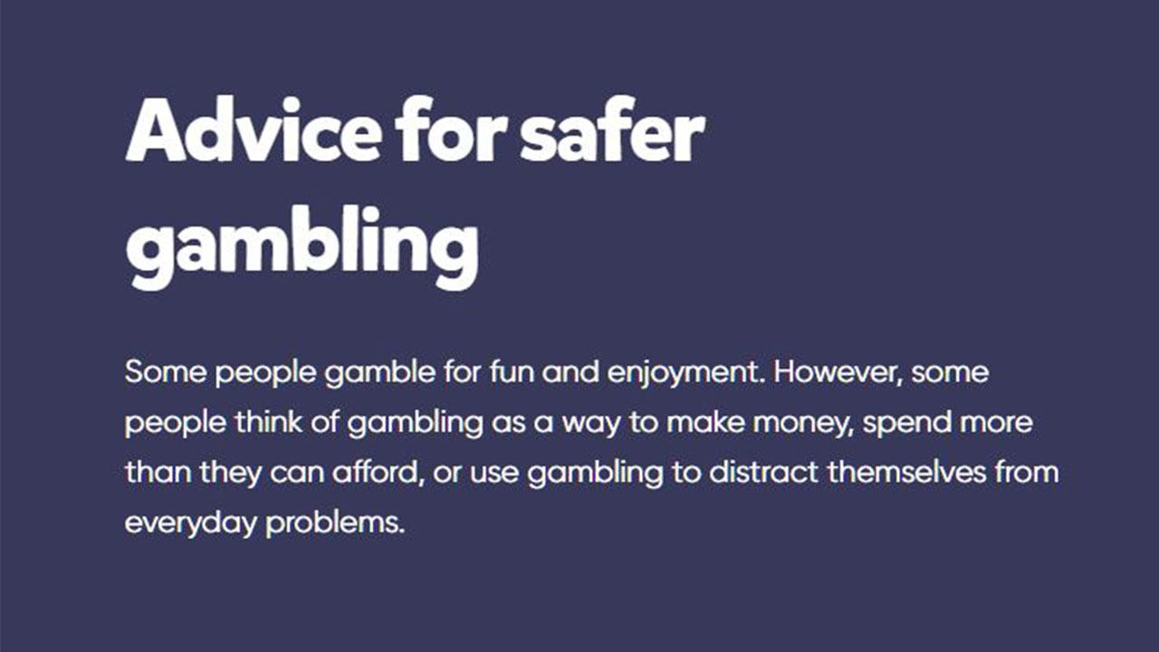 Following these tips can help you to stay safe if you choose to gamble