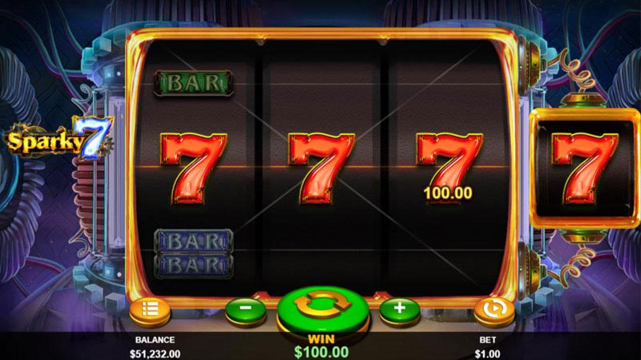 50 Free Spins on Sparky 7 at Slotocash Casino