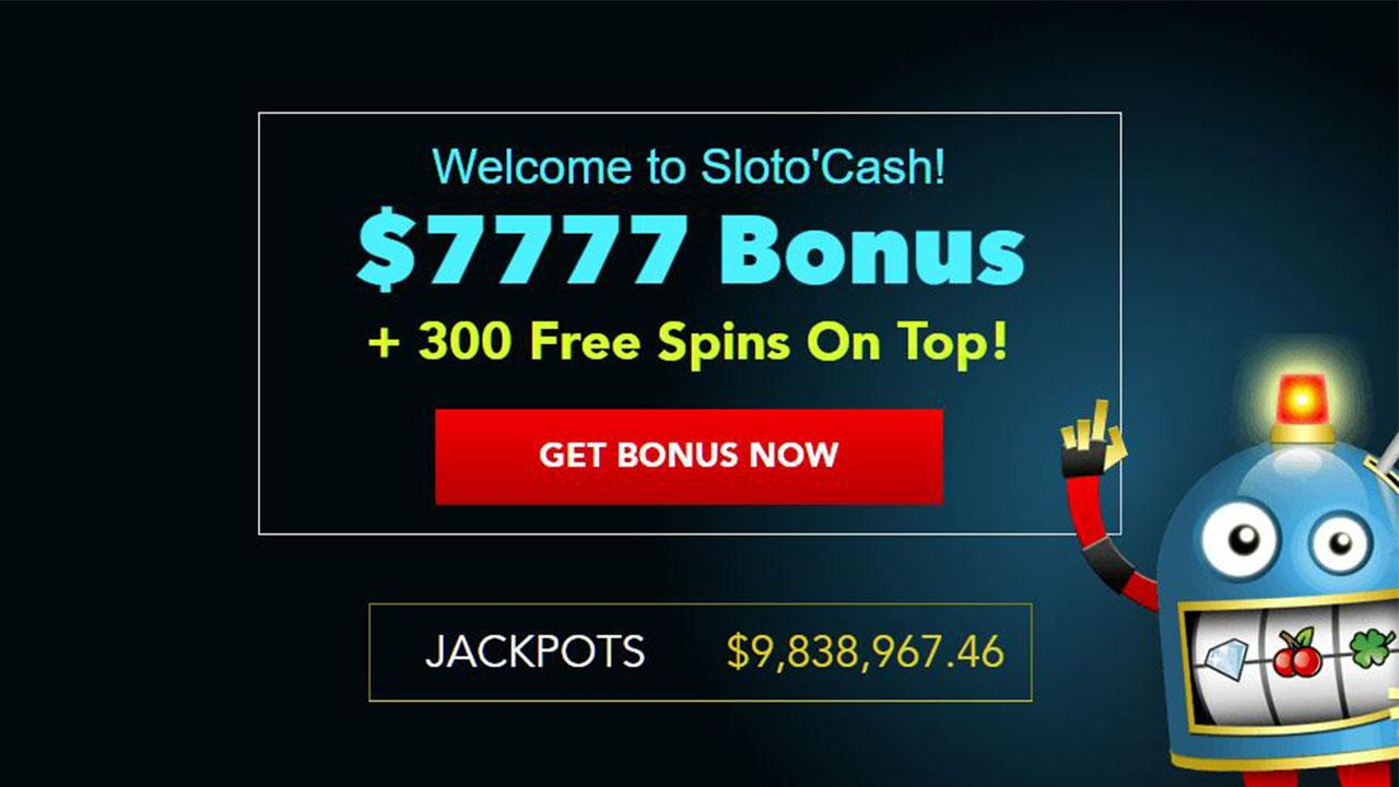 $7,777 in Free Welcome Bonuses + add 300 Free Spins on Top