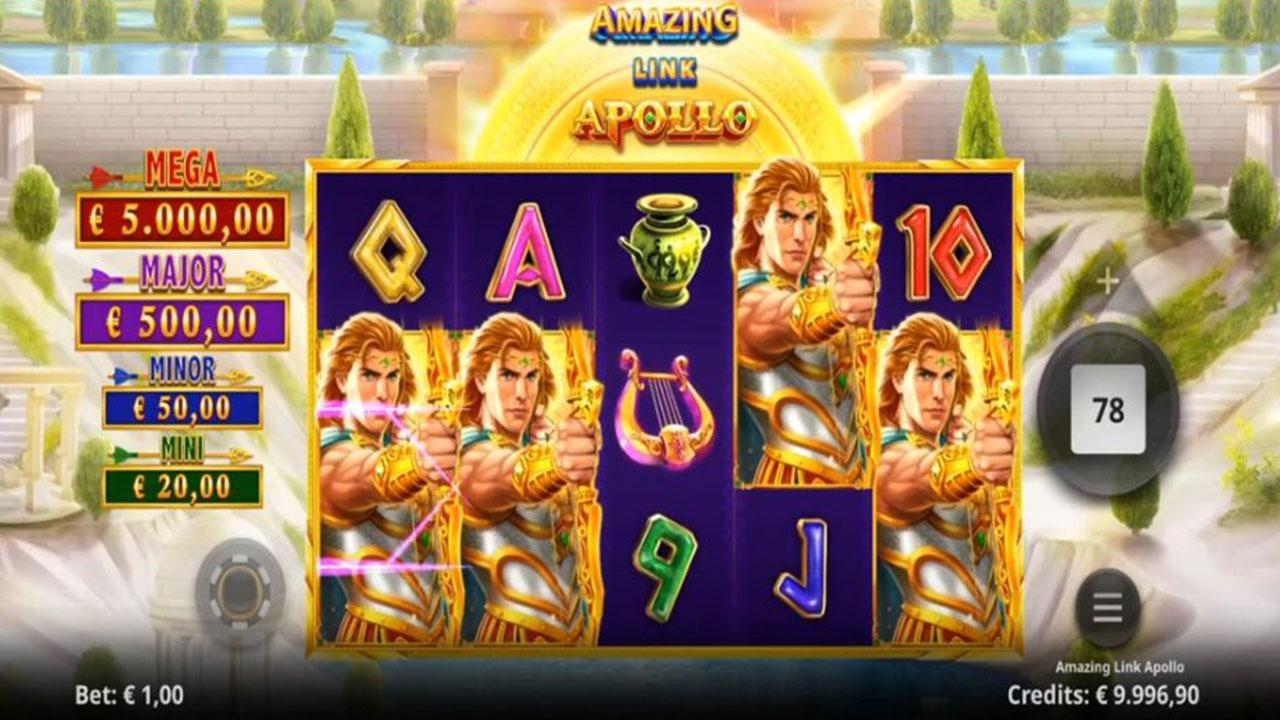 Double Points on Amazing Link Apollo