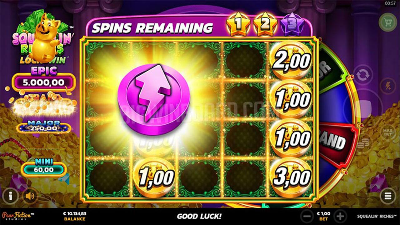 Play Squealin Riches and win $100