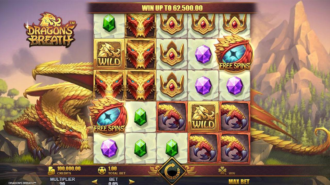 Play Dragons Breath and WIN $100